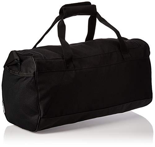 Adidas Lin Duffle S Gym Bag, Unisex Adulto, Black/Black/White, NS