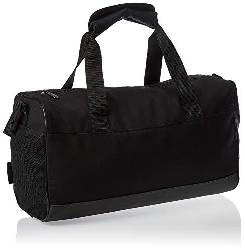 adidas Lin Duffle XS Gym Bag, Unisex Adulto, Black/Black/White, NS