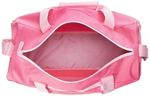 adidas - Linear Core, Bolso de mano Unisex adulto, Rosa (Solar Pink/True Pink), 15x20x37 cm (W x H L)