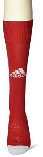 adidas Milano 16 Sock - Medias para hombre, multicolor ( ROJO / BLANCO), talla 40-42 EU, 1 par