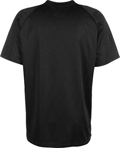 adidas Mono Jersey Pol Camiseta de Manga Corta, Hombre, Black/White, M