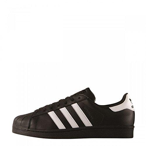 adidas Originals Superstar, Zapatillas Unisex Adulto, Negro (Core Black/ftwr White/Core Black), 43 1/3 EU