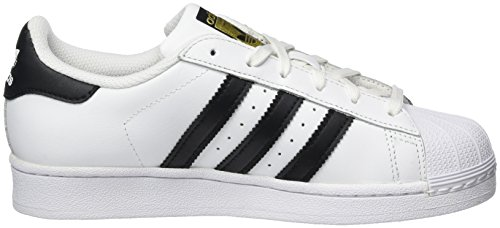 Adidas Originals Superstar, Zapatillas Unisex Niños, Blanco (Ftwr White/Core Black/Ftwr White), 36 2/3 EU