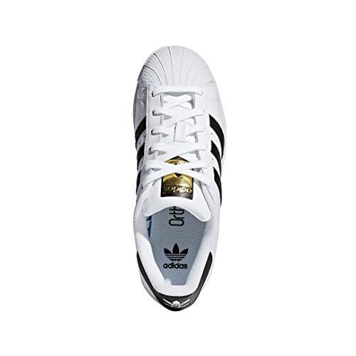 adidas Originals Superstar, Zapatillas Unisex Niños, Blanco (Ftwr White/Core Black/Ftwr White), 39 1/3 EU