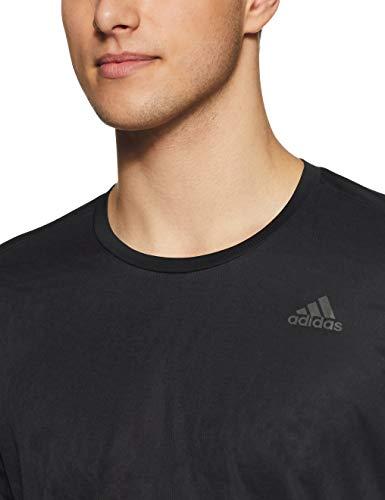 adidas Own The Run LS Camiseta de Manga Larga, Hombre, Black, M