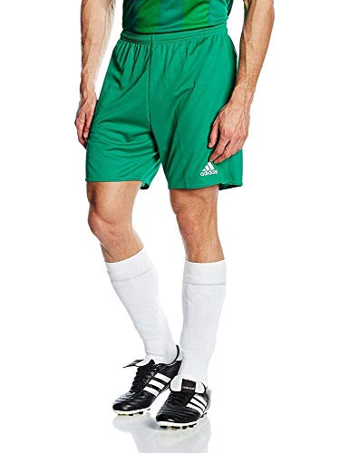 adidas Parma 16 Intenso Pantalones Cortos para Fútbol, Hombre, Bold Green/White, M