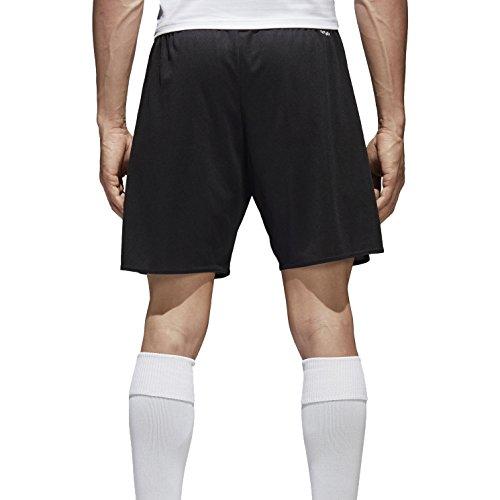 adidas Parma 16 Intenso Pantalones Cortos para Fútbol, Hombre, Negro/Blanco, M