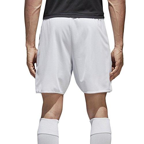 adidas Parma 16 SHO Pantalones Cortos de Deporte, Niño, Blanco/Negro, M