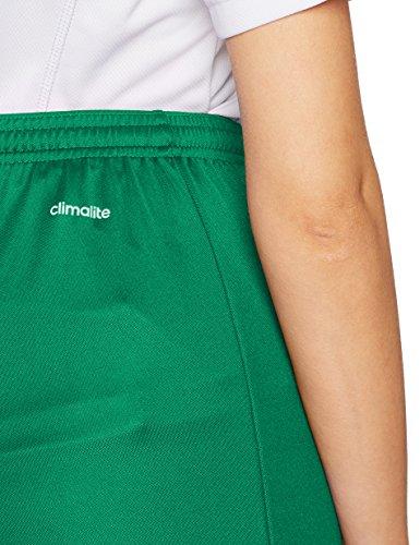 adidas Parma 16 SHO W Pantalones Cortos de Deporte, Mujer, Bold Green/White, 2XLL