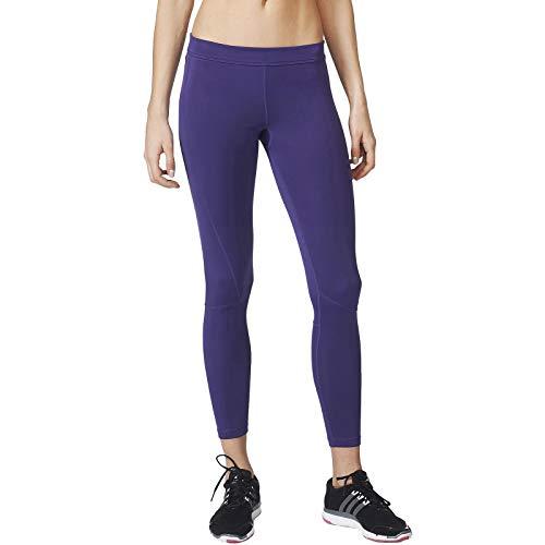 adidas Performance Techfit - Mallas deportivas para mujer, color morado Morado Morado ( L