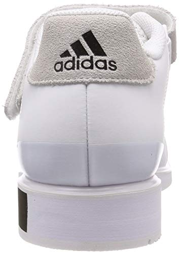 adidas Power III, Zapatillas de Deporte para Hombre, Blanco (Footwear White/Core Black/Footwear White 0), 40 2/3 EU