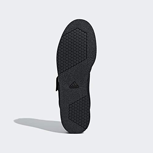 Adidas Powerlift 4 Bc0343, Zapatillas de Deporte para Hombre, Negro (Core Black/FTWR White/Core Black Core Black/FTWR White/Core Black), 39 1/3 EU