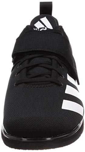 Adidas Powerlift 4 Bc0343, Zapatillas de Deporte para Hombre, Negro (Core Black/FTWR White/Core Black Core Black/FTWR White/Core Black), 39 1/3 EU