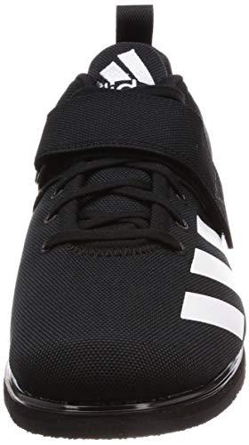 Adidas Powerlift 4, Zapatillas de Deporte para Hombre, Negro (Core Black/Footwear White/Core Black 0), 44 2/3 EU