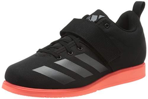 adidas Powerlift 4, Zapatillas de Deporte para Hombre, Negro (Core Black/Night Metallic/Signal Coral), 42 2/3 EU