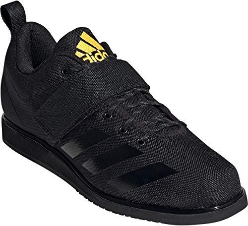 adidas Powerlift 4, Zapatillas Halterofilia para Hombre, NEGBÁS/NEGBÁS/Dorsol, 41 1/3 EU