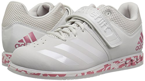 adidas Powerlift.3.1 Cross Trainer para hombre, Gris (Gris/granate/gris.), 44.5 EU