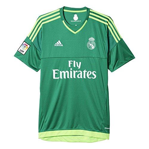 adidas Real Madrid Away Goalkeeper Camiseta, Hombre, Multicolor (Bold Green/Solar Green), L