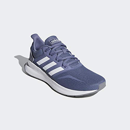adidas Runfalcon, Zapatillas de Entrenamiento para Mujer, Azul (Raw Indigo/FTWR White/Grey Three), 39 1/3 EU