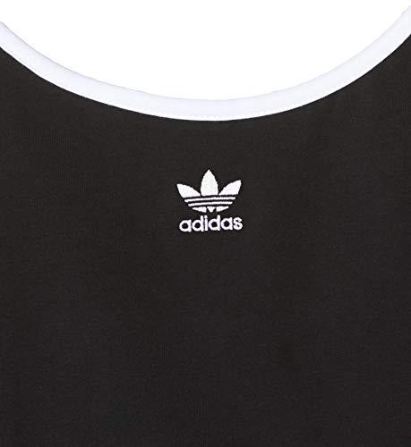 adidas Spaghetti Strap Camiseta sin Mangas, Mujer, Black/White, 42