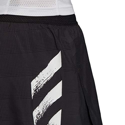 adidas Speed Split M Pantalones Cortos de Deporte, Hombre, Black/White