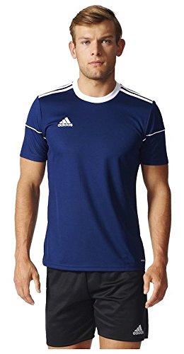 adidas Squad 17 JSY SS Camisetapara Hombre, Azul (Dark Blue/White), M