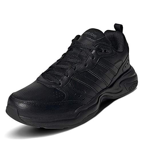Adidas Strutter, Zapatillas Deportivas Fitness y Ejercicio Hombre, Noir Noir Gris Foncã, 42 EU