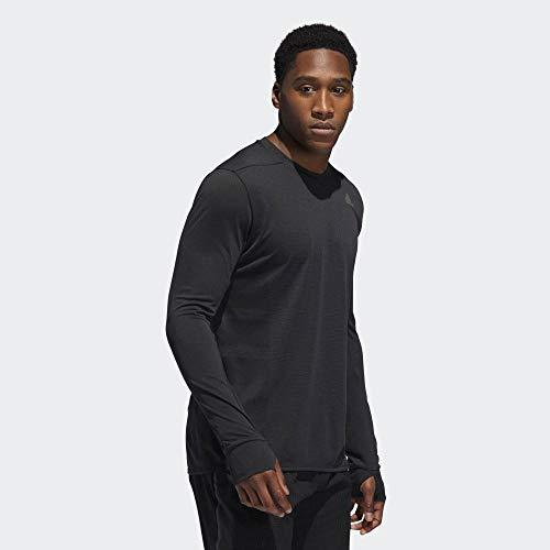 adidas Supernova tee Camiseta de Manga Larga, Hombre, Black, XL