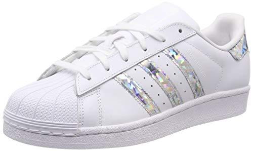 adidas Superstar J Zapatillas de Gimnasia Unisex Niños, Blanco (Ftwr White/Ftwr White/Ftwr White Ftwr White/Ftwr White/Ftwr White), 37 1/3 EU