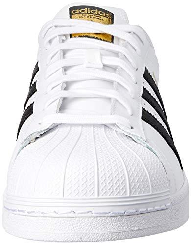 adidas Superstar, Zapatillas de deporte Unisex Adulto, Blanco (Ftwr White/Core Black/Ftwr White), 39 1/3 EU