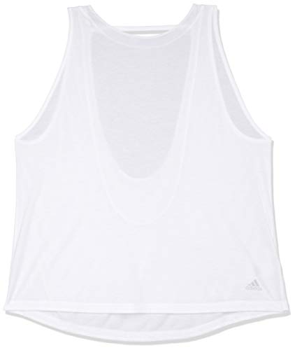 adidas Tank Top Depósito, Mujer, Blanco, S