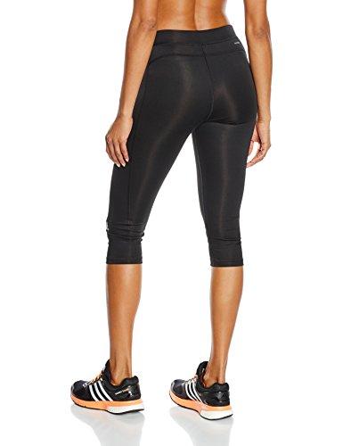 adidas Techfit Capri Mallas, Mujer, Multicolor (Negro/Plamat), XS