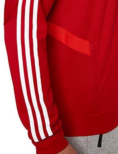 Adidas Tiro 19 Training Jkt Chaqueta Deportiva, Hombre, Rojo (Power Red/Red/White), M