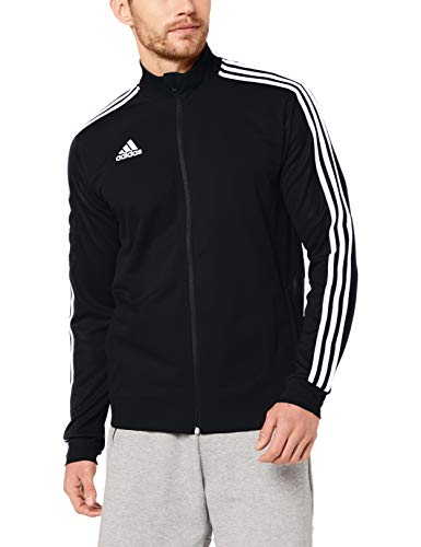 Adidas Tiro 19 Training Track Top Jkt Chaqueta Deportiva, Hombre, Negro (Black/Black/White), M