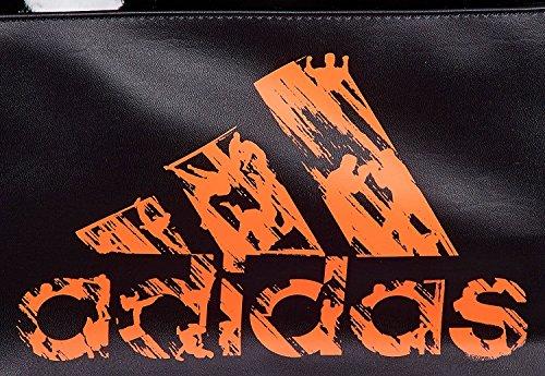 adidas Training 2in1 Bag Bolsa de Deporte, Unisex, Negro/Naranja, Talla única