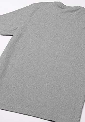 adidas Trefoil Essential tee Camiseta de Manga Corta, Hombre, Gris (Medium Grey Heather), M