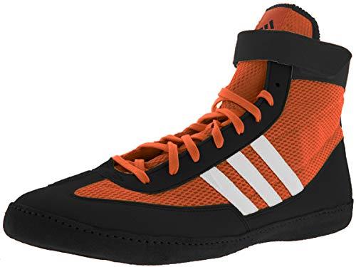 Adidas Velocidad Combat 4 de Lucha Zapatos Naranja/Negro/Blanco Tamaño 11.5