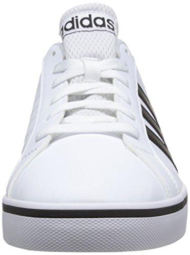 Adidas Vs Pace, Zapatillas para Hombre, Blanco (Footwear White/Core Black/Blue 0), 41 1/3 EU