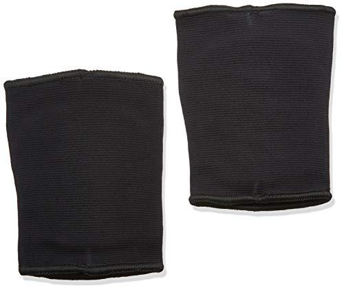 adidas Youth Rodilleras de rendimiento de voleibol de 5 pulgadas, un par por paquete - CE5305, Rodilleras de 12,7 cm., Medium, Negro