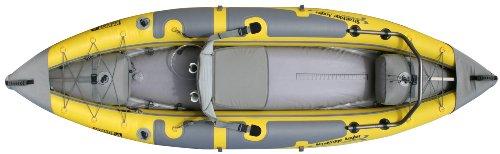 Advanced Elements StraitEdge Angler Kayak, Unisex, Amarillo-Amarillo, 295 cm