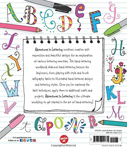 Adventures in Lettering: 40 exercises to improve your lettering skills