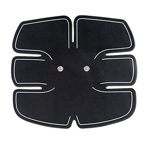 Almohadillas del Gel Fitness Entrenamiento Masajeador Dispositivo Accesorio Estimulador de Músculo Abdominal Pierna Brazo Tonificación del Cuerpo Adhesividad Excelente (NO PUEDE utilizar por separado)