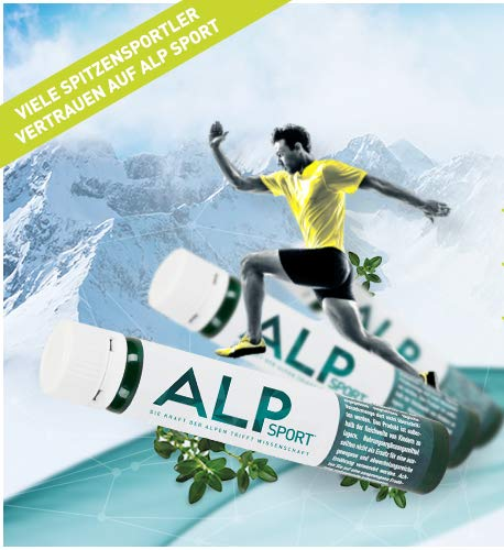 ALP SPORT multivitaminas y minerales con magnesio liquido vitamina C zinc selenio Vit E B complex B12 Q10 coenzima 14x25 ml ampollas bebibles suplementos deportivos