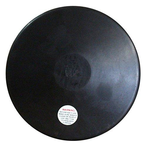 Amber RD-175 - Disco de Goma para Entrenamient, 1.75 kg, Negro