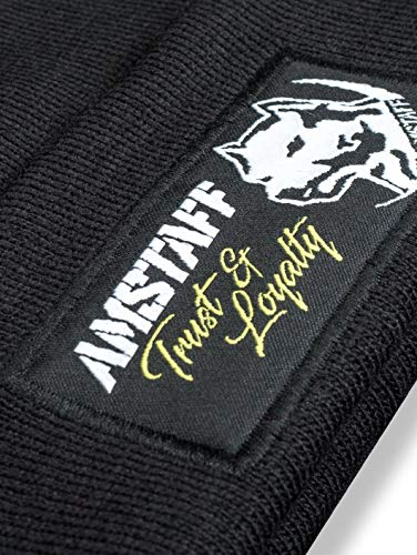 Amstaff Loyalty - Gorro Negro Talla única