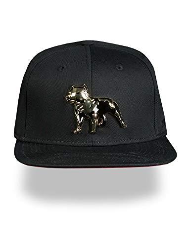Amstaff Unisex Snapback Cap Desto, Farbe:Schwarz, Größe:One Size