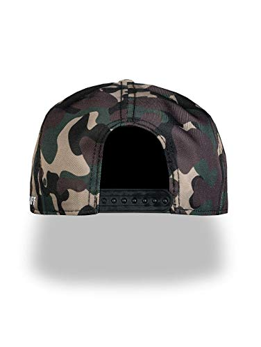 Amstaff Unisex Snapback Cap Tafio, Talla:One Size, Color:Camouflage