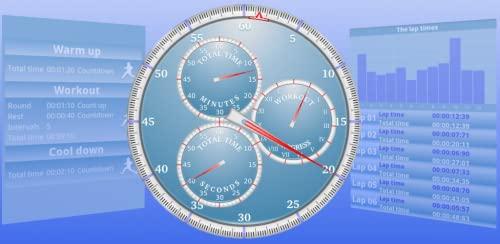 Analog Interval Stopwatch Pro
