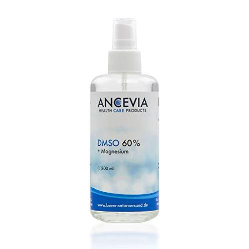 ANCEVIA® DMSO 60 con magnesio 200 ml - dimetilsulfóxido + cloruro de magnesio - como spray - DMSO con 99.9% de pureza Ph. Eur