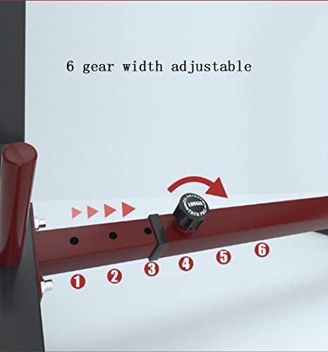 Aoligei Fitness Squat Barbell Rack, Multifuncional Barra para Sentadillas, Entrenamiento De Fuerza, Multifuncional Soporte Ajustable, Peso Máximo de 260kg